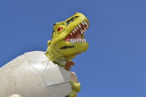 Dinosaur, Egg, Hatch, Hatching, Reptile, Prehistoric
