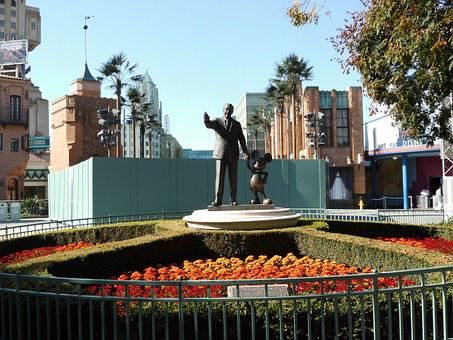 Walt Disney, Disney, Art, Sculpture, Disneyland, Paris