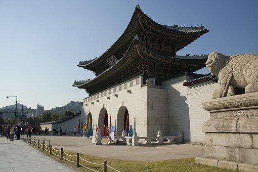 Gyeongbok Palace, Gwanghwamun, Forbidden City, Seoul