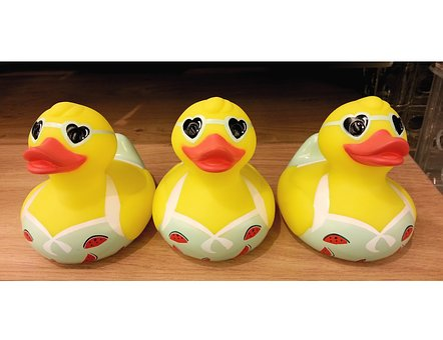 Ducks, Plastic, Beaks Hearts, Bras, Funny, Humor, Bath