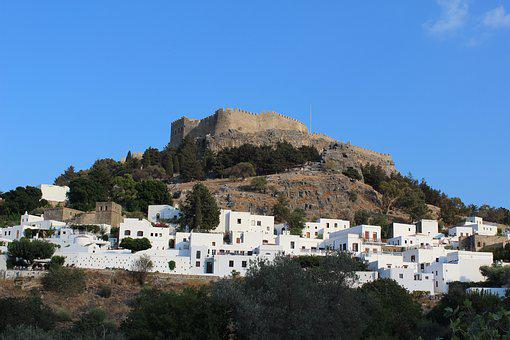 Greece, Rhodes Island, Summer, Landscape