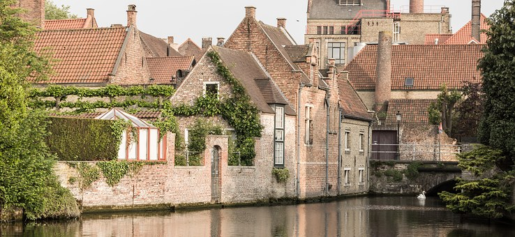 Bruges, Belgium, Channel, Canals, Historically