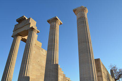 Greece, Holidays, Blue Sky, Finds, Ancient Greeks