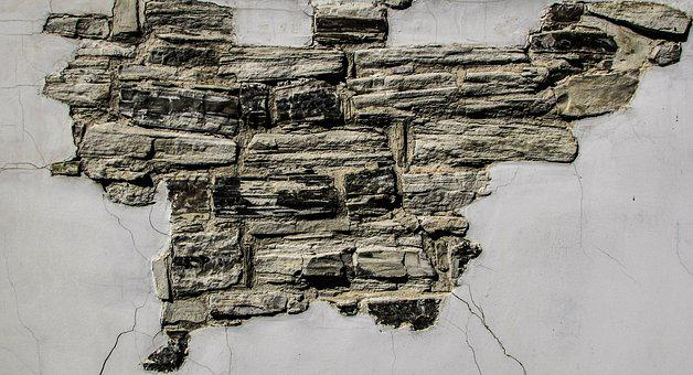 Wall, Damaged, Decay, Wear, House, Weathered, Aged