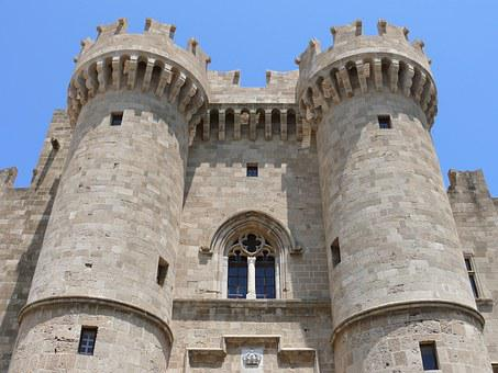 Knights, Fort, Palace Of The Grand Masters, Middle Ages