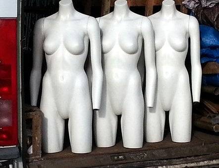 Mannequins, Dummies, Female, Fashion, Display, Retail