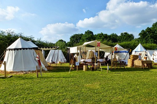 Medieval, Camp, Tents, Middle Ages, Medieval Festival