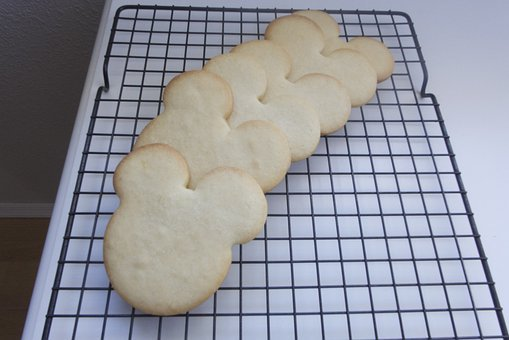 Mickey Mouse Cookie, Cookie, Baking, Mouse Ears