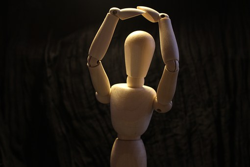 Dummy, Snowman, Wood, Dance, Move, Movement, Art