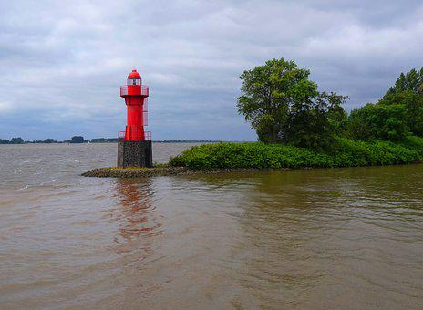 Beacon, Navigation, Nature, Shipping, Lighthouse