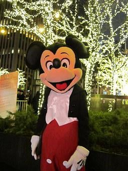 Mickey Mouse, New York City, Christmas In Nyc
