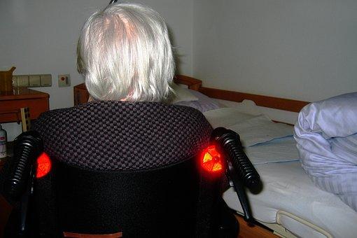 Woman, Old, Age, Grey Hair, Grandma, Retirement Home