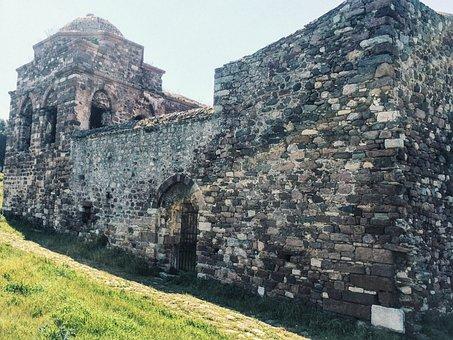 Castle Ruins, Ruins, Castle, Old, History, Travel
