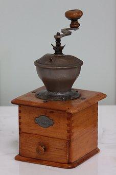 Old Coffee Grinder, Old Coffee-mill, Grandma