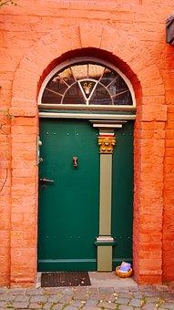 Door, Input, Old Door, Front Door, Old, House Entrance