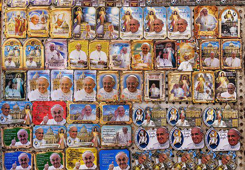 Pope, Church, Sticker, Tourism, Portrait, Vatican