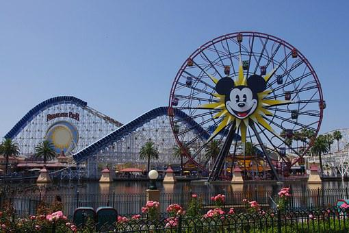 California, Adventure, Roller, Coaster, Ride, Amusement