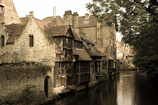 Bruges, Canals, Picturesque, Romantic, Historically
