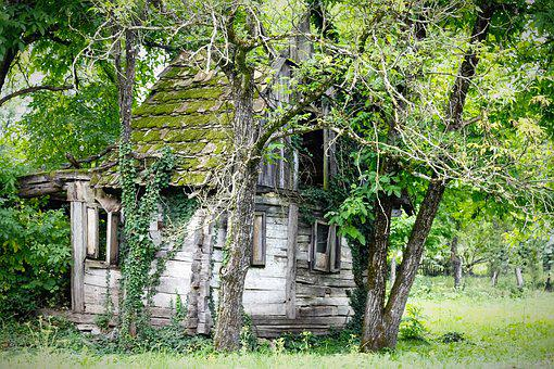 Ruins, House, Outdoor, Architecture, Damage, Broken