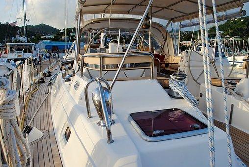 Sailboat, Cockpit, Gear, Boat, Vacation, Summer, Yacht