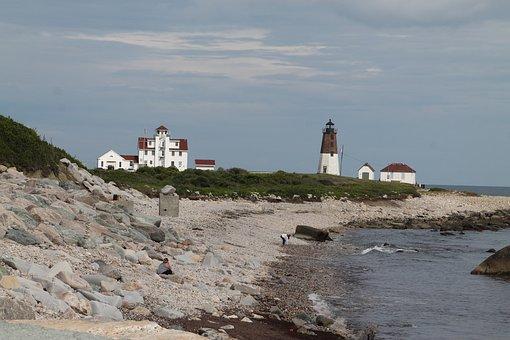 Lighthouse, Shore, Rhode Island