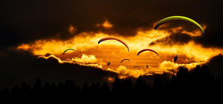 Travel, Fly, Paragliding, Paraglider, Sport, Sky
