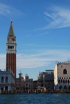 Venice, Piazza, St Mark's, Campanile