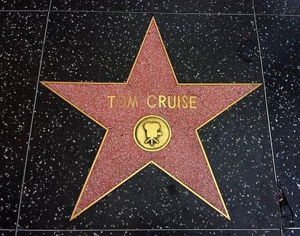 Star, Tom Cruise, Actor, Gold, Golden, Decoration