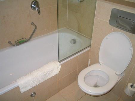 Hotel, Toilet, Israel, Design, Home, Decor, Stone