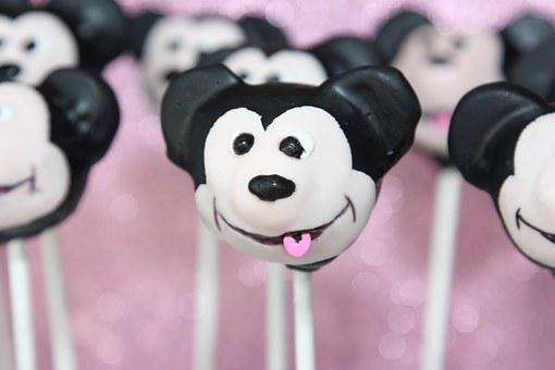 Cake Pops, Mickey Mouse, Cake, Sweets