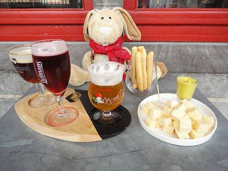 Beer, Cheese, Tasting, Belgium, Bruges, Hase Pauli