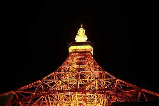 Travel, Mark, Tokyo Tower, Japan