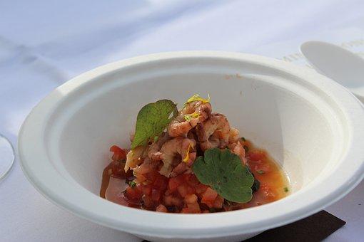 Food, Bruges, Eat, Tomato, Shrimp, Soup, Lunch, Dinner