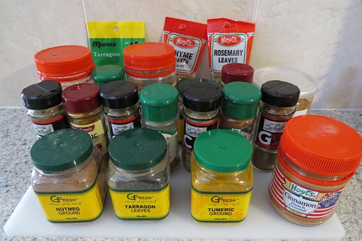 Spices, Turmeric, Powders, Curries, Curry, Flavours