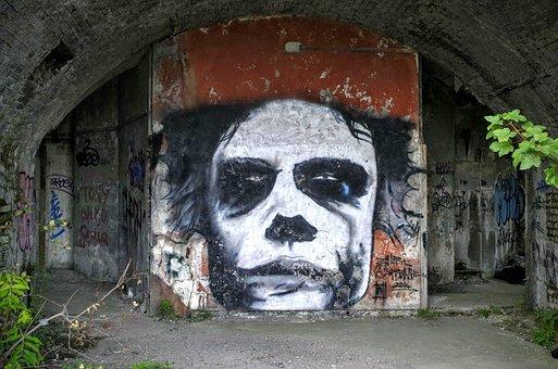 Graffiti, Abandoned, Decay, Wall, Building, Urban