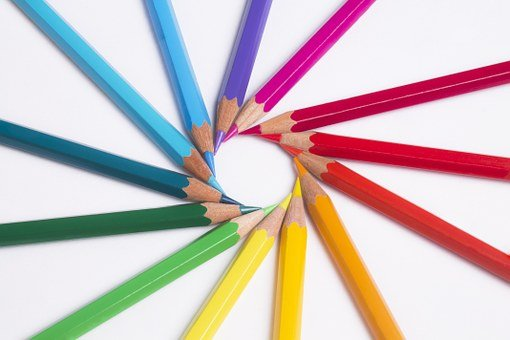 Pencils, Colors, Pastels, Rainbow, Drawing, Artistic