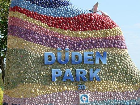 Artwork, Art, Modern Art, Duden Park, Antalya, Turkey