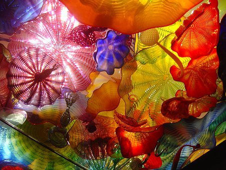 Chihuly Glass, Colorful, Chihuly Exhibit, Artist