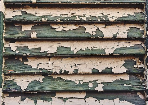 Shutter, Old, Paint, Decay, Chipping, Vintage