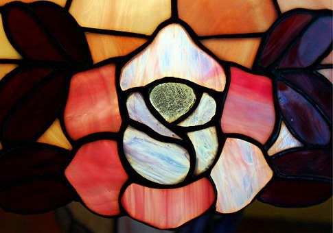 Tiffany, Glass Art, Lichtdeko, Colorful, Color Glass