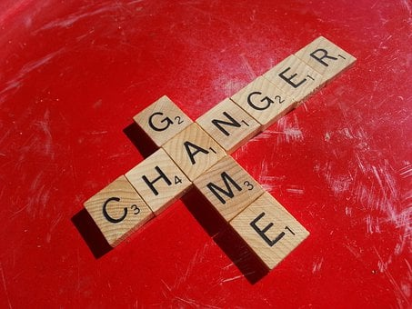 Game, Changer, Scrabble, Letters, Words, Red, Tiles