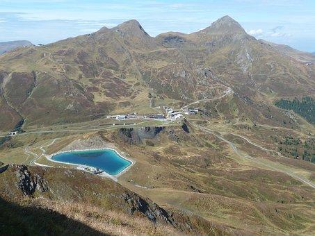Kleine Scheidegg, Bernese Oberland, Eigertrail, Bergsee