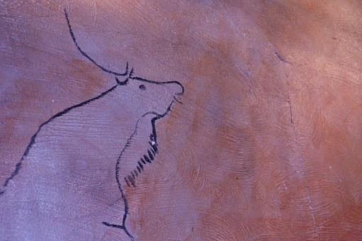 Cave Painting, Painting, Old, Antique