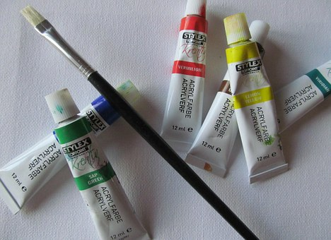 Color, Painting, Brush, Colorful, Canvas, Artists, Art