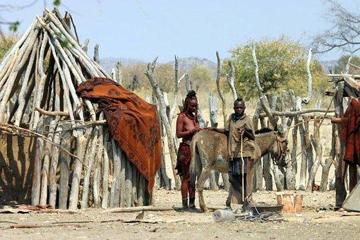 Africa, Desert, People Shelter