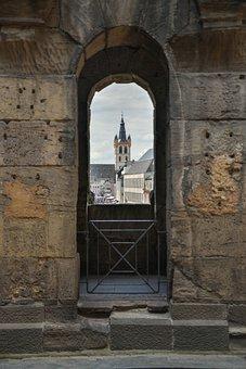 Trier, Outlook, Window, Porta Nigra, Historically, View