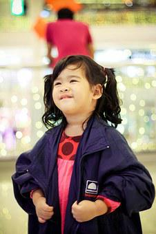 Baby, Girl, Thai Kid, Pretty Girl, Children, Kid
