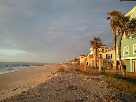 Edisto Island, Beach, South Carolina, Sunrise, Ocean