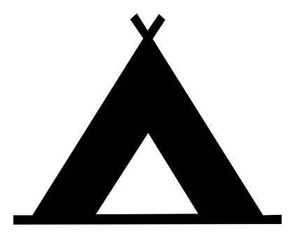 Tepee, Camping, Map, Poi, Tent, Indian