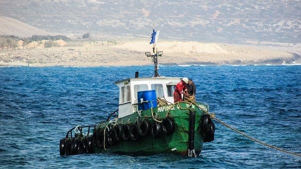 Towboat, Sea, Tugboat, Nautical, Vessel, Maritime